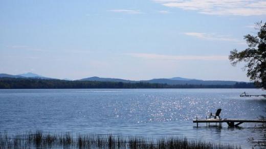 Lake Carmi in Franklin, Vermont