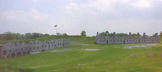 Fort Crown Point Barracks