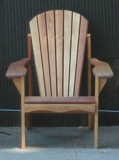 The Classic Adirondack Chair