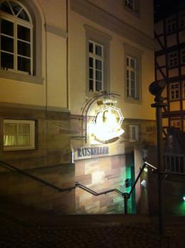 Ratskeller restaurant in Bad Wildungen, Germany