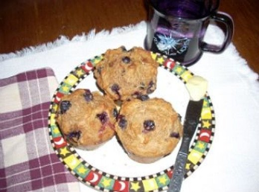 Awesome-Blueberry-Muffins