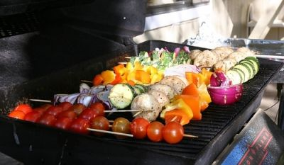 Grilling Vegetable Shish Ka Bobs