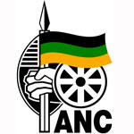 The logo of the African National Congress (ANC)