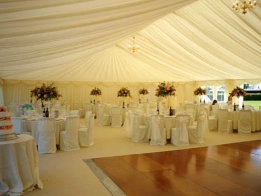 Wedding Tent with Floor