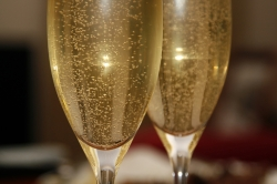 Sparkling Wine for the Wedding Toast