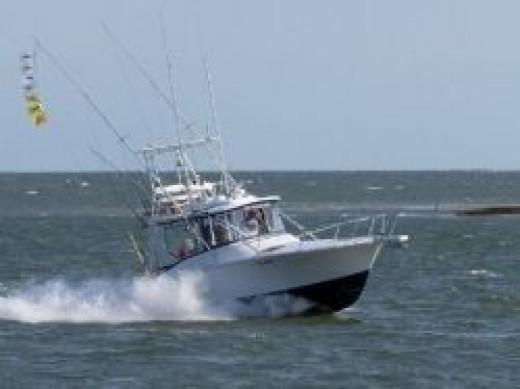 ocean city fishing charter boat