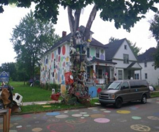 Houses and Trees become Art