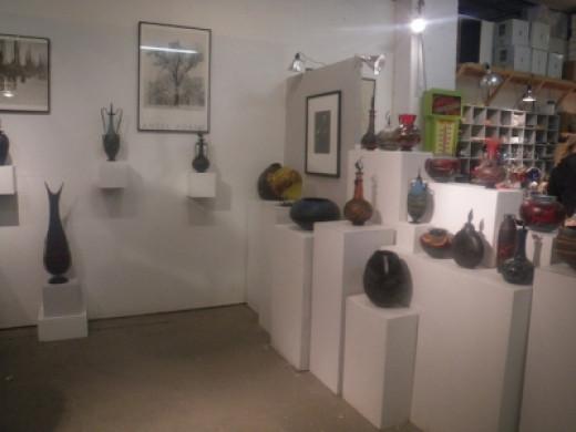 Indigo Glass Studio at the Russel Industrial Center