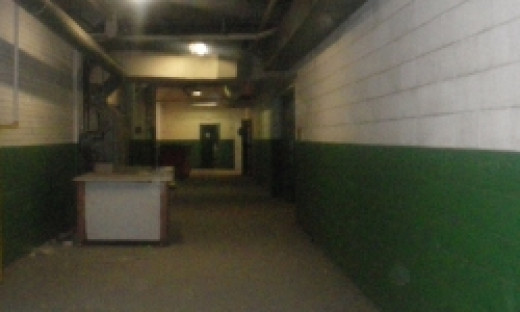 Russel Street Industrial Center Building Hallway
