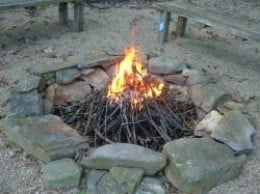 Our Backyard Fire Pit