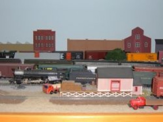 The Freight House and Yard