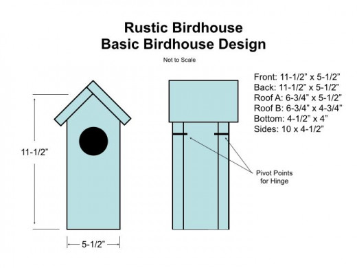 Birdhouse ideas 10 different diy birdhouse plans and for Song bird house plans