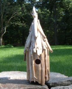 Driftwood Art: How To Make A Driftwood Birdhouse