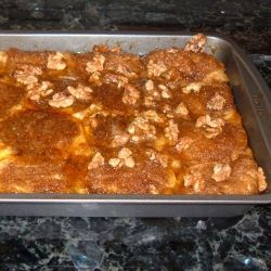 French Toast Bake: Fresh from the Oven