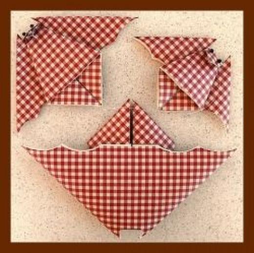 Kitchen Style Origami Bat