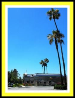 Route 66 in La Verne, California
