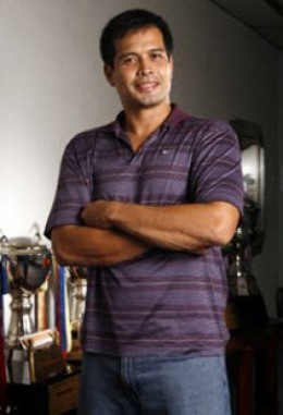 PBA Player Alvin Patrimonio
