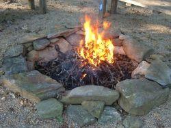 Fieldstone Fire Pit
