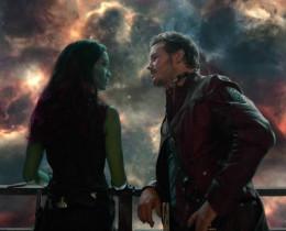 Peter and Gamora