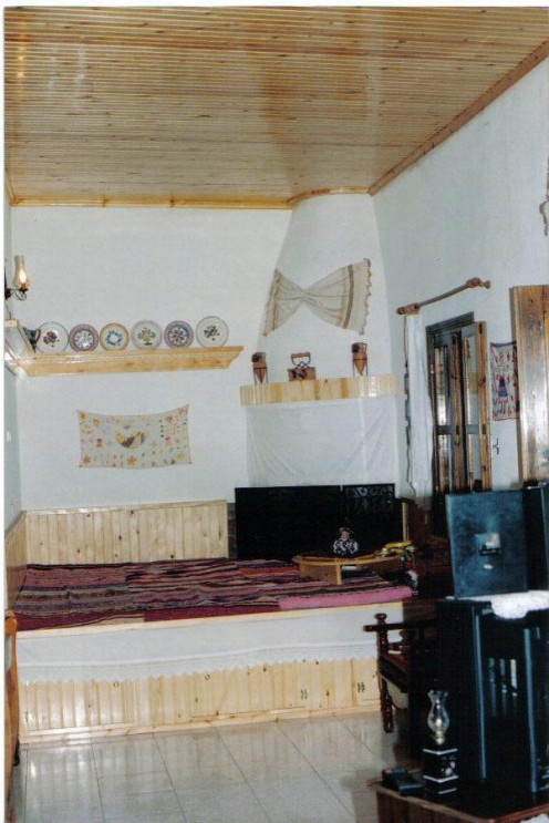 Many of these village homes have been maintained with traditional furnishings and decorations.