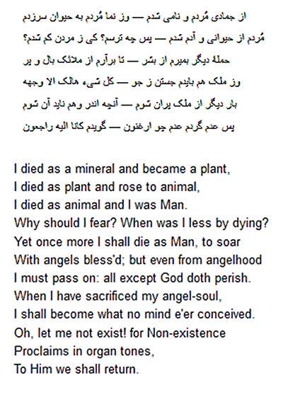 Rumi's Poem