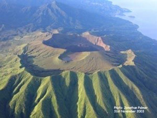 Mount Soufriere Volcano