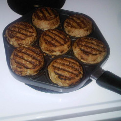 Yummy Grill Pan Burgers