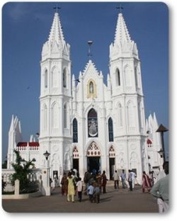 Christianity Church at Velankanni