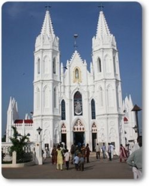 Christianity Church at Velankanni