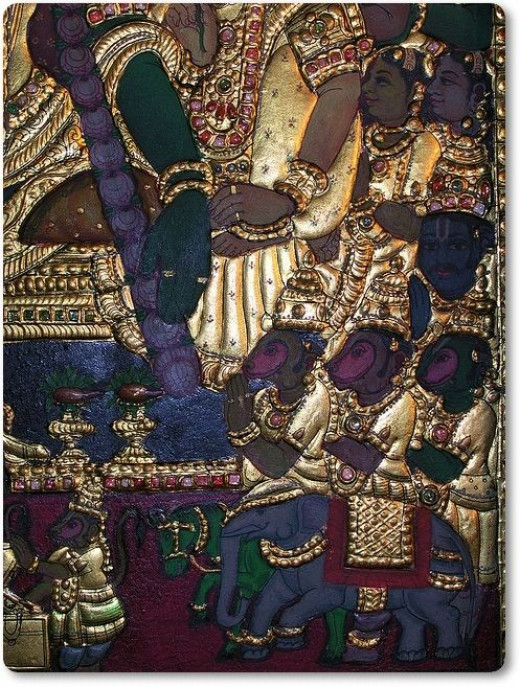 Tanjore Painting Details