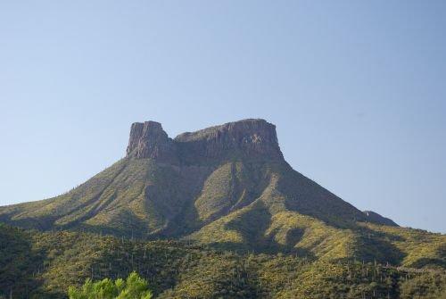 Mesa close to the town of San Carlos.