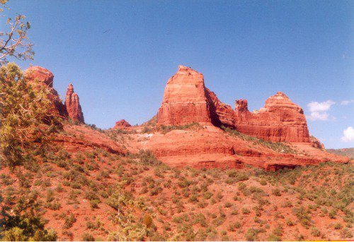 More red rocks.
