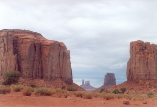 Deeper into Monument Valley...
