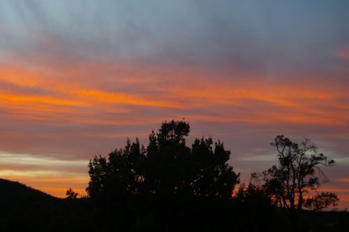 And here's that sunset!
