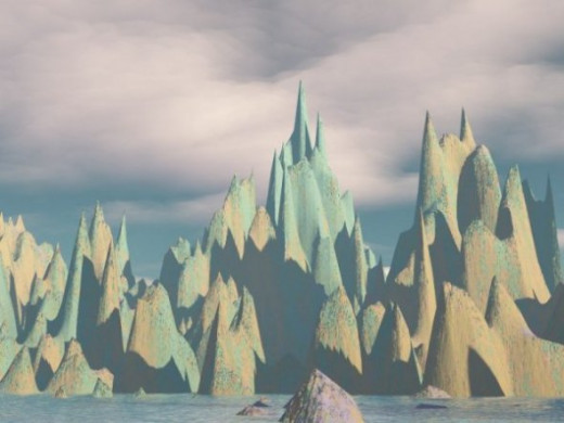 Organpipe Hills - Because the peaks remind me of organ pipes. Just being silly.