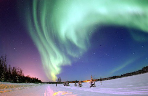 Aurora. Not my photo, unfortunately.