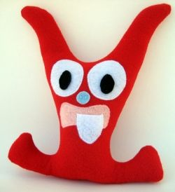 Boy's Tooth Fairy Monster Pillow