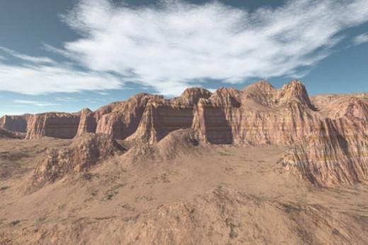 Contrasts Desert