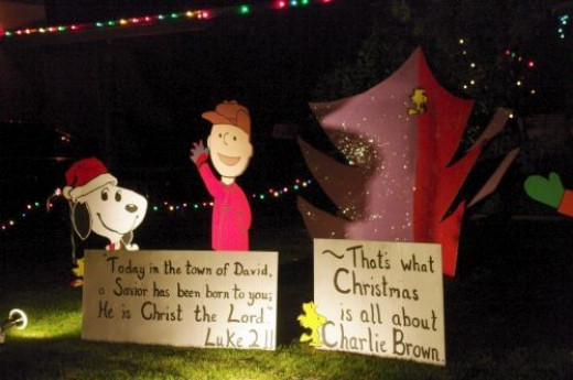 Charlie Brown Christmas, with the real message.