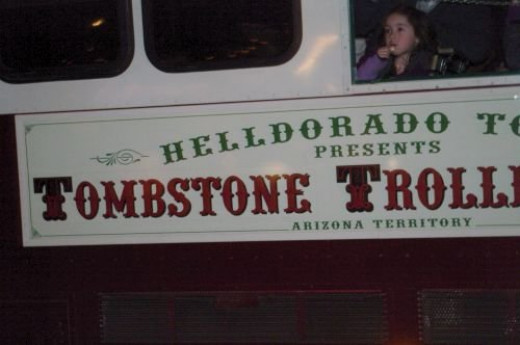 Several trolleys went through the area. This one was from Tombstone.