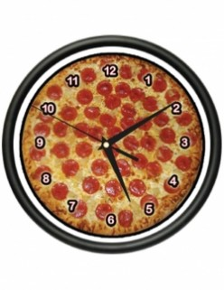 Pizza Clocks for Every Taste