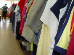 Save money on children's clothes at the thrift store