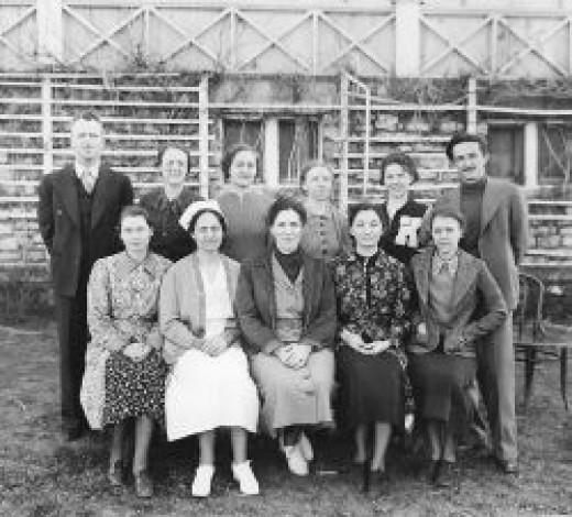 NYA Camp Kansas Bertha McGhee