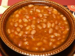One of the Cheapest Recipes: Bean Soup