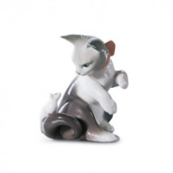 Lladro Cat Figurines