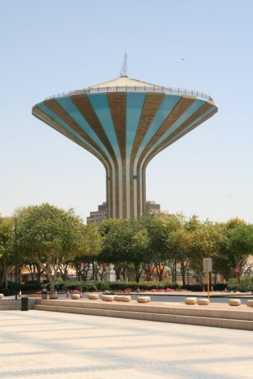 Old Water Tower In Riyadh
