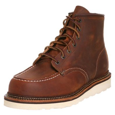 Red Wing Heritage Men's Classic Work 6-Inch Moc Toe Boot Leather