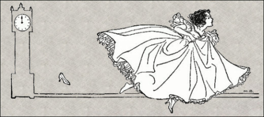 Cinderella. Click the link below to download this Steampunk style clip art.