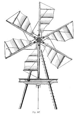 Windmill with industrial size propellers. Check The Graphics Fairy for more fun steampunk clip art.