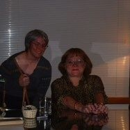 Ann Rule and me at a book signing in Denver.
